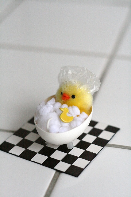 DIY Easter chicks