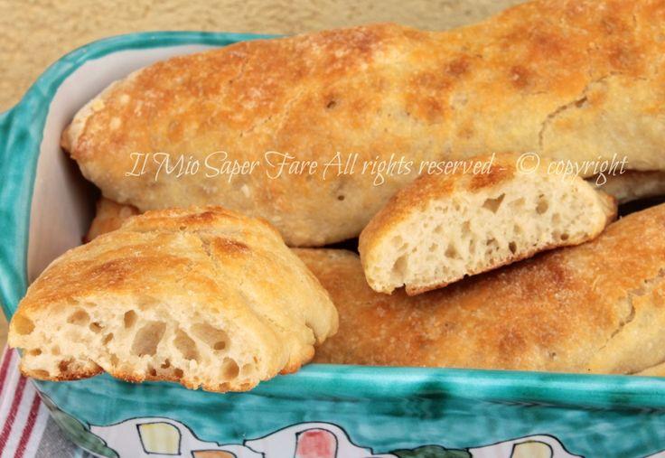 Stecche di Jim pane fatto in casa senza impasto il mio saper fare