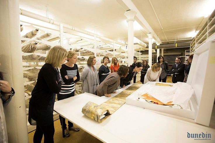 Inside the museums basement, back of house tour #Dunedin #DunnerStunner Venue: Otago Museum HD Skinner Annex  Catering: Otago Polytechnic Food Design Institute Themeing: Visual Effects