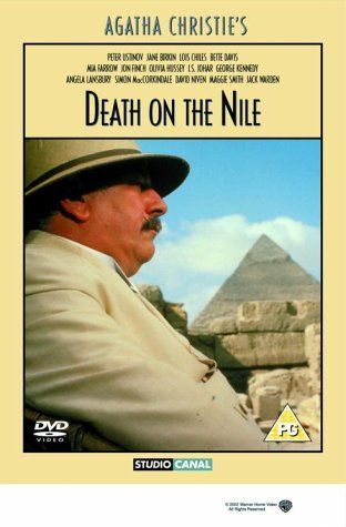 Directed by John Guillermin.  With Peter Ustinov, Mia Farrow, Simon MacCorkindale, Jane Birkin. A murder is committed on a Nile steamer, but Hercule Poirot is on board...