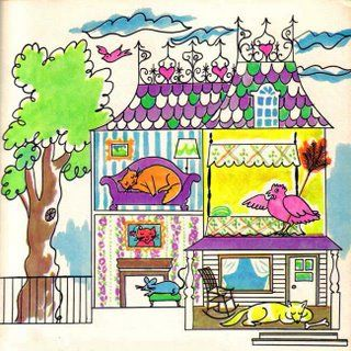 BibliOdyssey: Magpie Tidings - Andy Warhol illustrations from The Little Red Hen