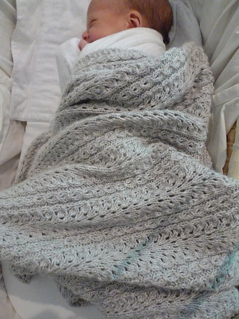 Shale Baby Blanket pattern by Jared Flood