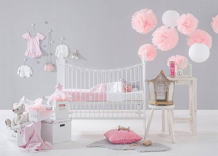 Inspiratie roze meisjeskamer
