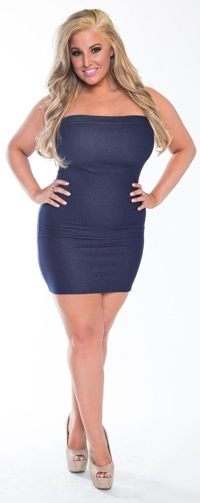 Plus size tube dress | Ideas for the House