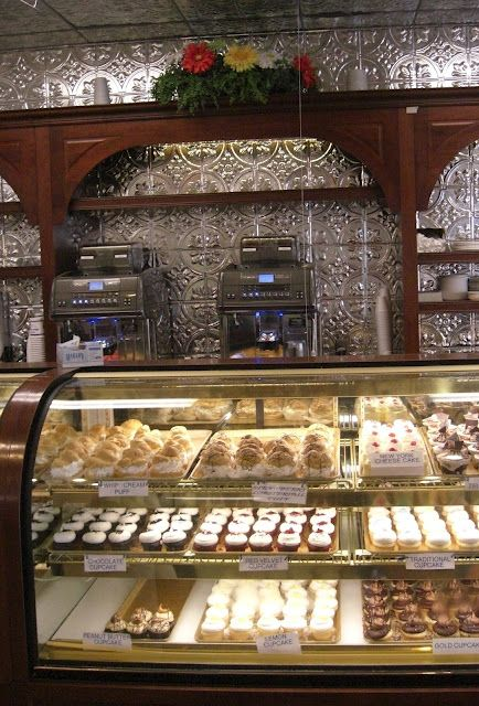 Mike's Pastry in the North End of Boston. The best Italian bakery ever!