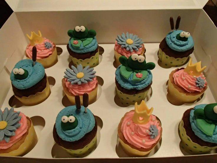 La princesse et la grenouille cupcake