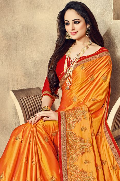 Feel Absolute Exuberance With Glorious Creation. visit @ http://sugnamal.com/category/?cat=Shop+Women&&subcat=Sarees Contact: 8418888893 #Fashion_at_sugnamal #saree #fashion #party #marriage #wedding #lehenga #kids_wear #indian #shop_online #bride #desi #new_arrival #festive_season #chritmas #shop_from_india #traditional #half_saree #ethnic #couture #shaadi_designer #salwaar_kameez #quality #desi_fashion #dress #gown #long_dress #indan_collection #bridal_collection #baara #sugnamal