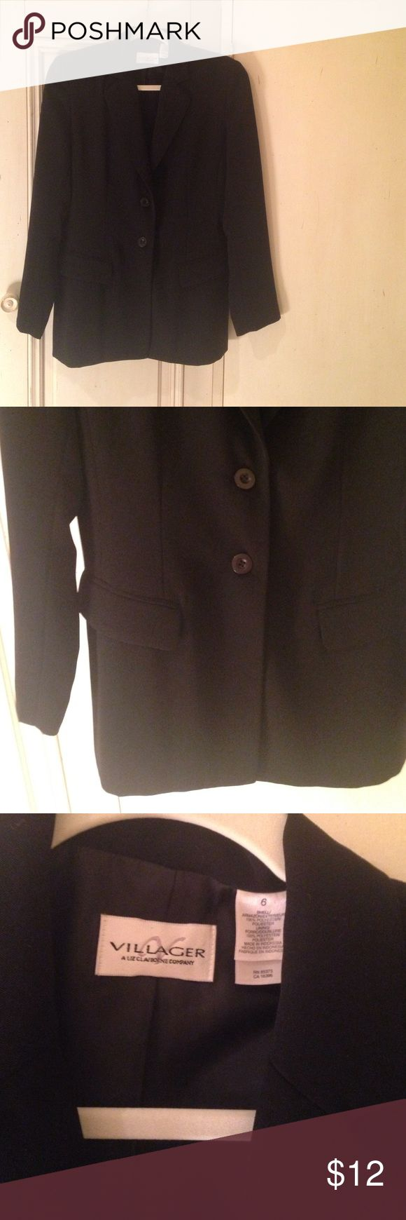 Villager/Ann Klein Blazer Like new, with shoulder pads.  Any questions, just ask! Ann Klein  Jackets & Coats Blazers