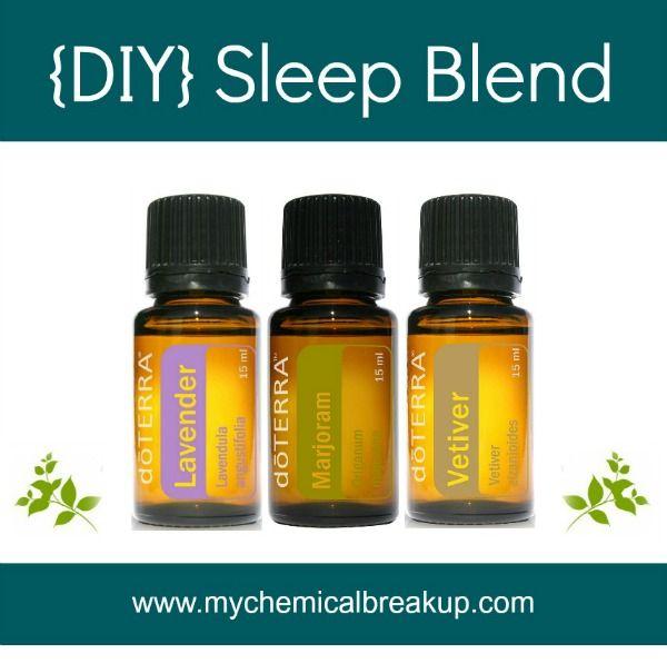 Diy Essential Oil Sleep Blend Wonderful To Shut Down Your