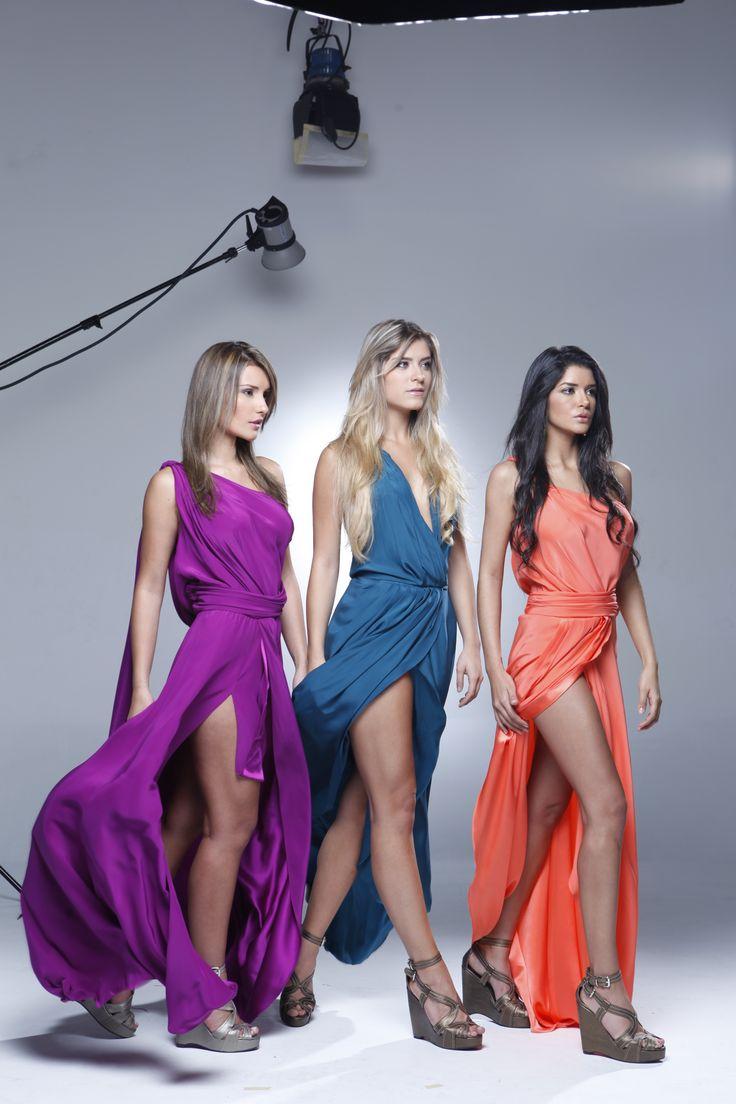 Ellas tres fueron las finalistas de Chica E! Colombia 2011. ¿Estás lista para demostrar tu talento?