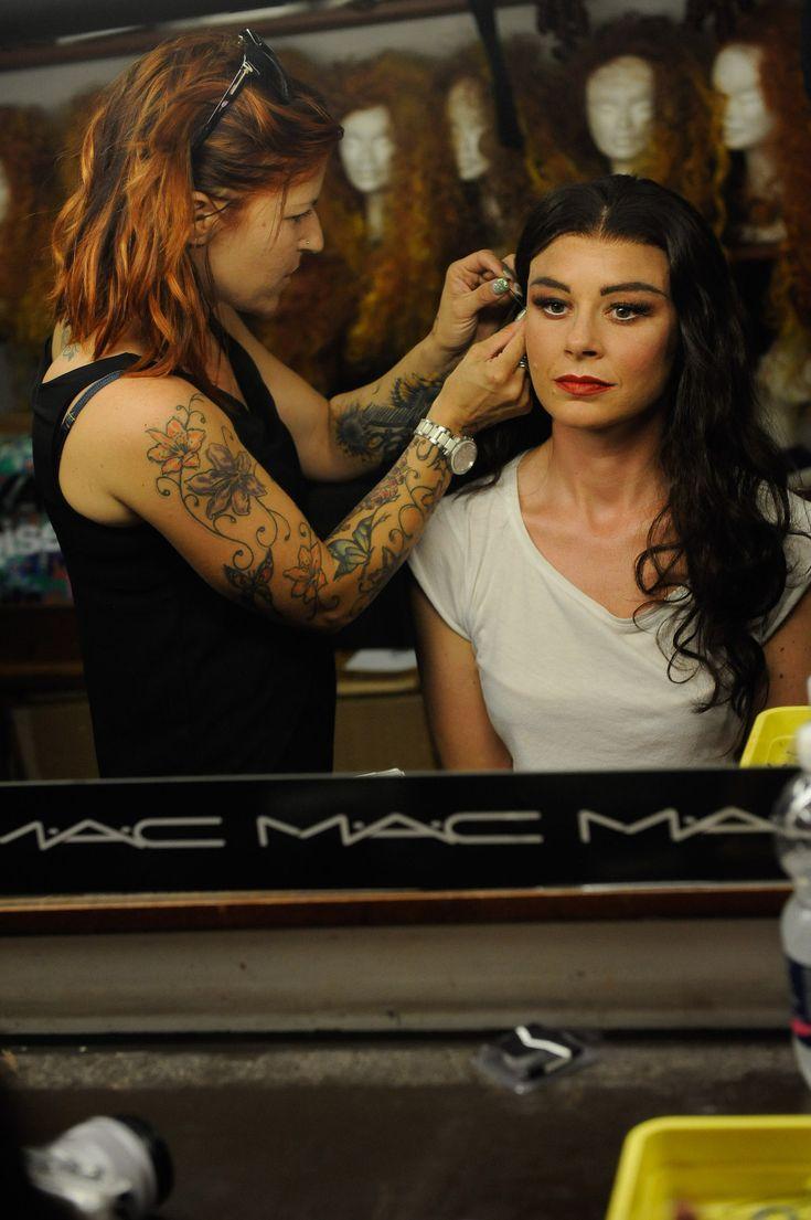 Mac Cosmetics Arena di Verona make up theatre backstage Carmen