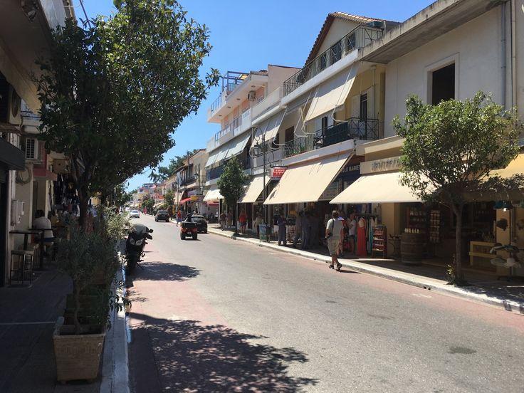 Calle principal de Katakolon