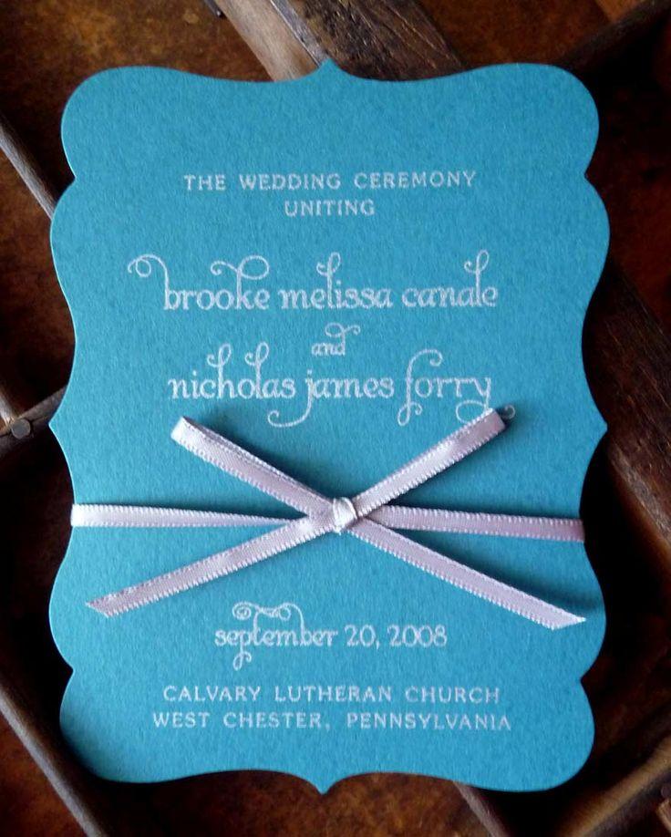 Cricut Explore Wedding Invitations: Make Accordion Fold Programs A