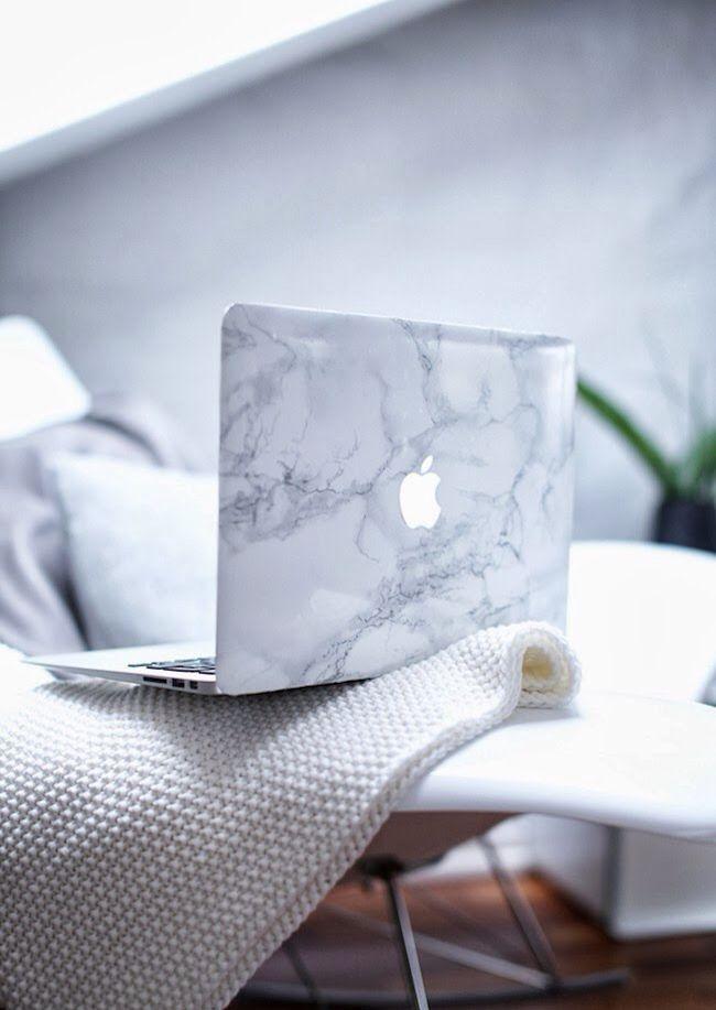 Macbook marble case
