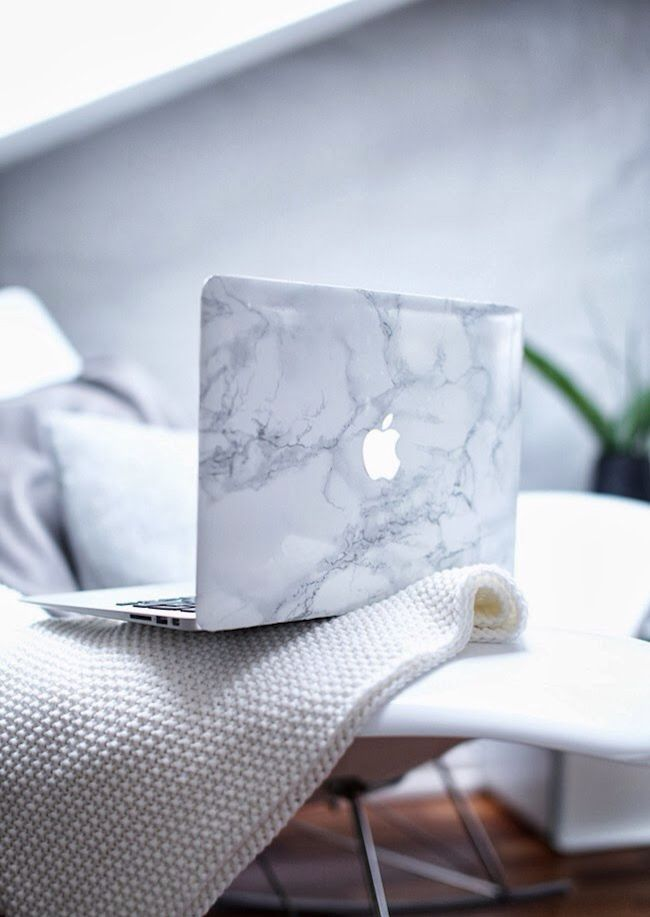 Macbook marble case                                                       …