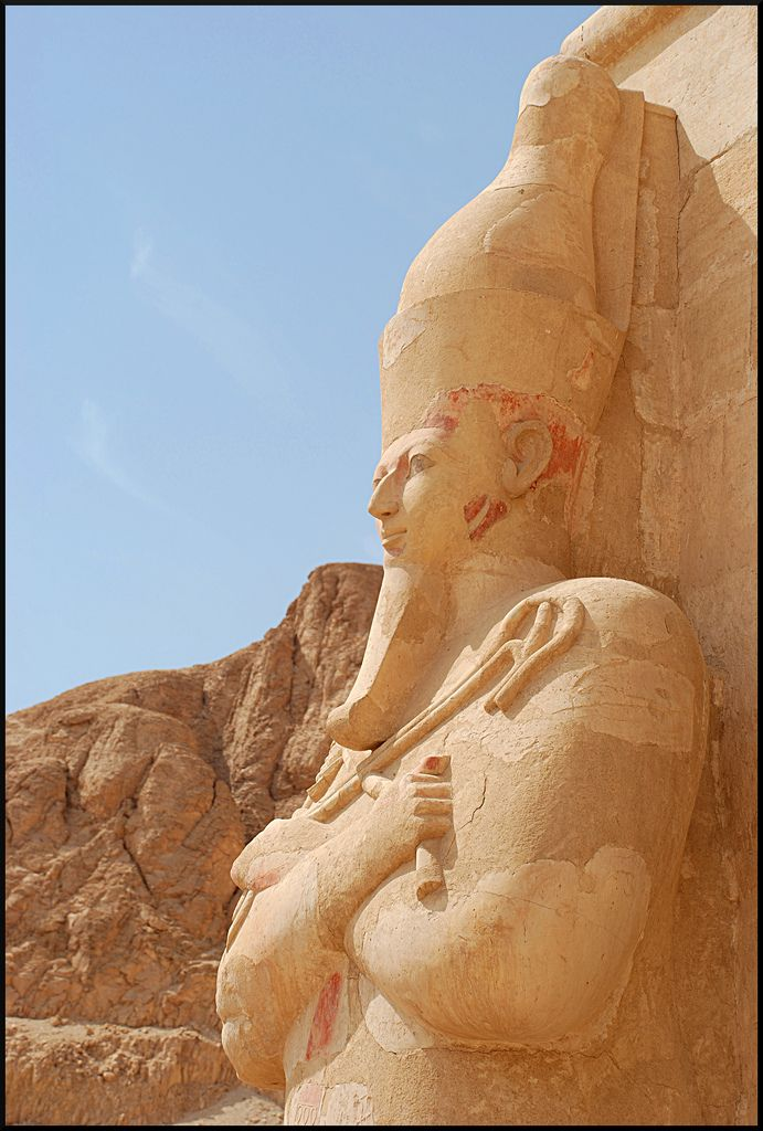 Hatshepsut  Temple  Egypt                                                                                                                                                     More