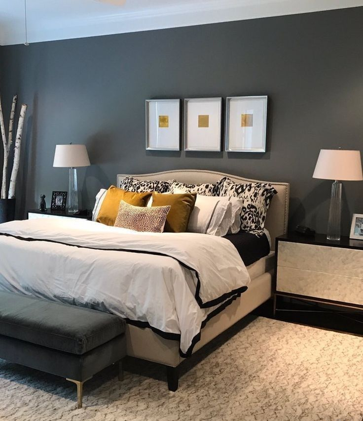 Amaze Inspiration Grey Bedroom Ideas From The Super Glam To The Ultra Modern 16 In 2020 Bedroom Paint Colors Master Gray Master Bedroom Master Bedroom Colors