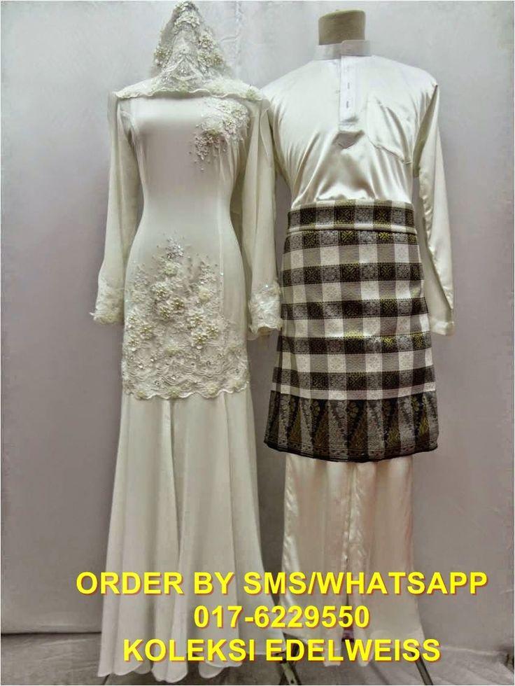 Baju Pengantin Bajet Set Baju Melayu dan Dress Koleksi