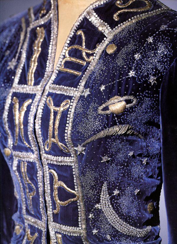 Elsa Schiaparelli zodiac jacket 1938                                                                                                                                                                                 More