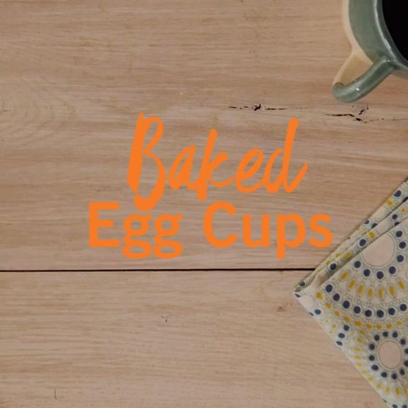 A a grab-and-go breakfast idea to get you through the busy New Year: baked egg cups. Watch to get this hack, plus 3 recipes + then tap for the full details.