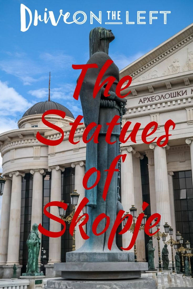 Skopje, Macedonia is one of the most bizarre capital cities in Europe, thanks to the Skopje 2014 project, which has covered the city center in massive, neo-classic statues and fountains.
