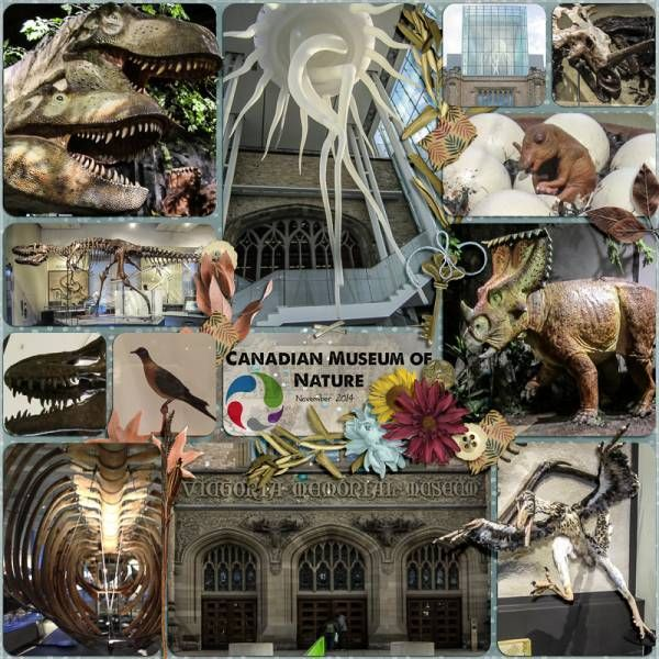 """Museum Visit 2014. Created using """"Autumn's Song - Collection"""" by Jilbert's Bits of Bytes.  #theStudio #digitalscrapbooking"""