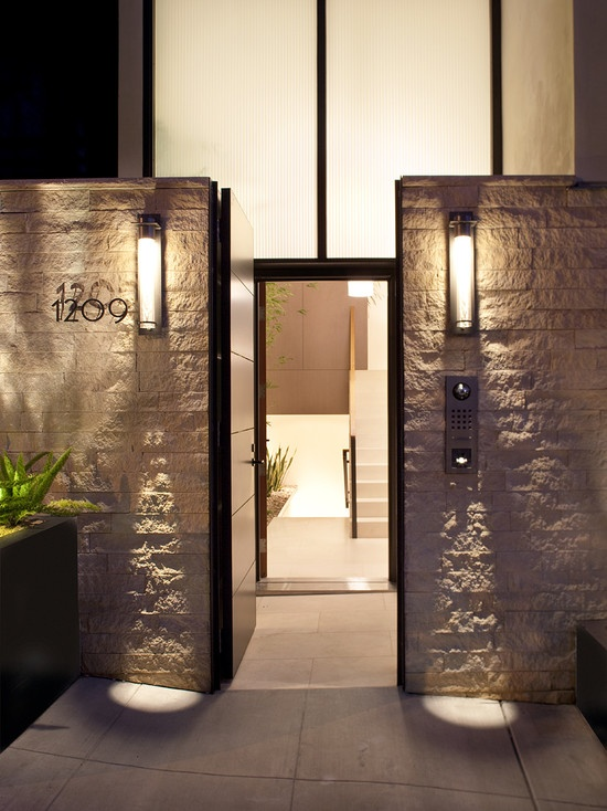 Like The Door Within A Door Concept. Allows Full Glass And Maintains  Privacy And Security