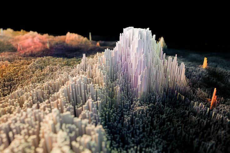 'Ziggurat' Fine #Art Print #space #spaceporn #nebula #abstract