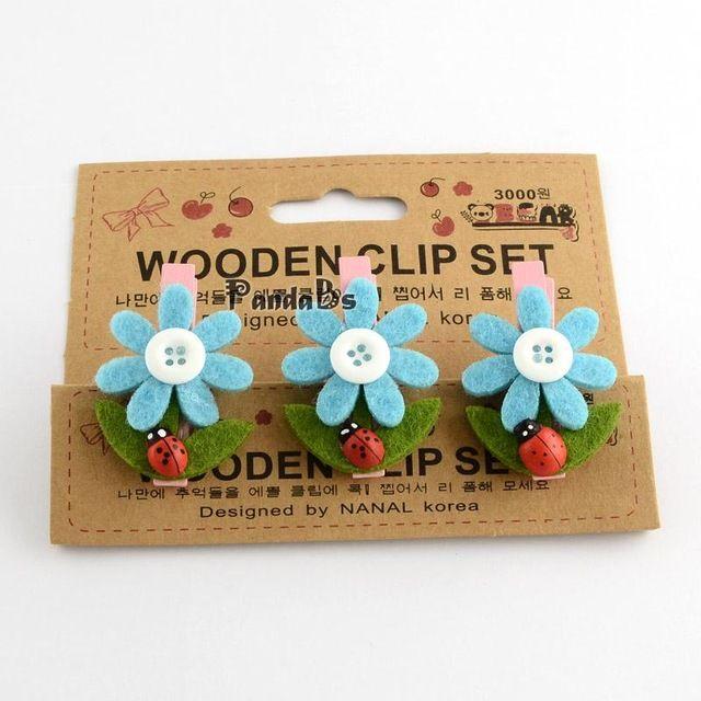Diy вуд крафт идеи свадьба украшения маленький цветок в форме деревянные ткань прищепки открытка тег примечание колышки клипы