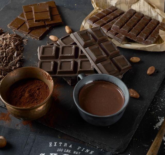Poleva z čokolády a kávy