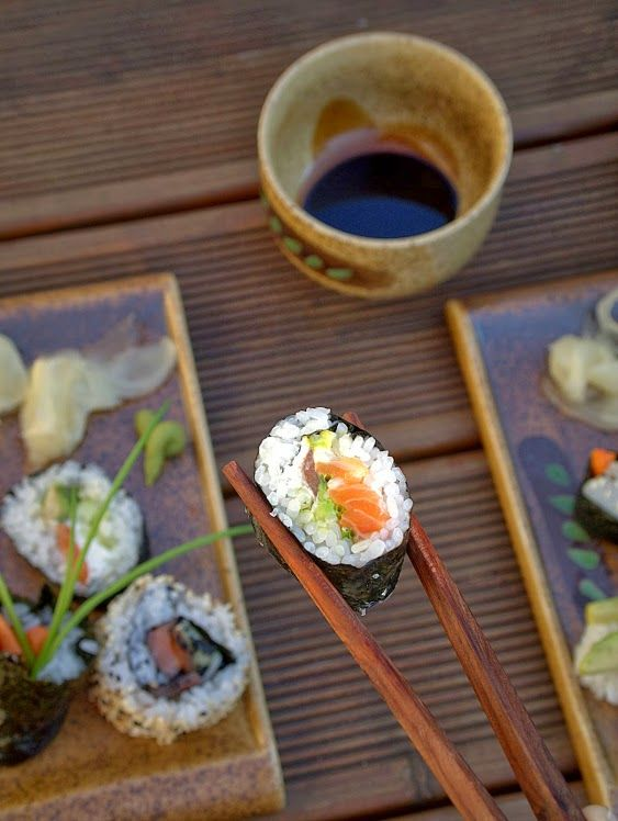 Ready for homemade sushi set?