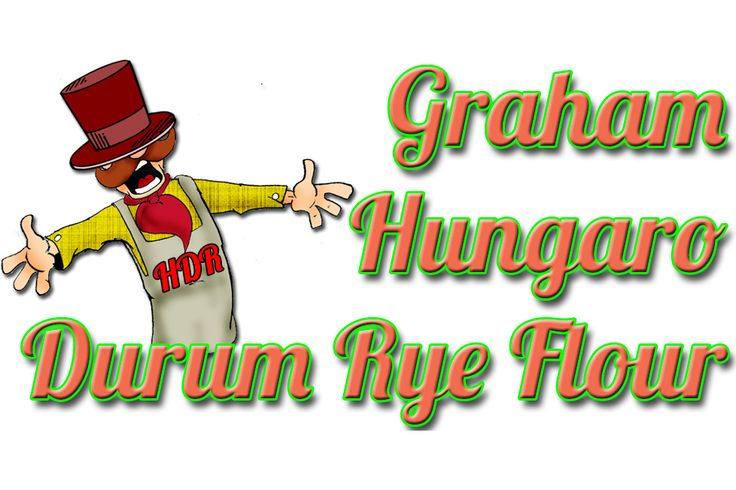 GRAHAM HUNGARO DURUM RYE FLOUR: Graham flour differs whole grain Hungaro durum rye flour only in its bigger granulate size, but it contains all of the ingredients that the grain has. Getting into the organism the carbohydrate absorbs slower - so after eating hunger sensation does not develop so soon. Because of its vitamin, mineral and fiber content its nutritive value is excellent. It is very recommended for patients in digestive disorders. It is popular...