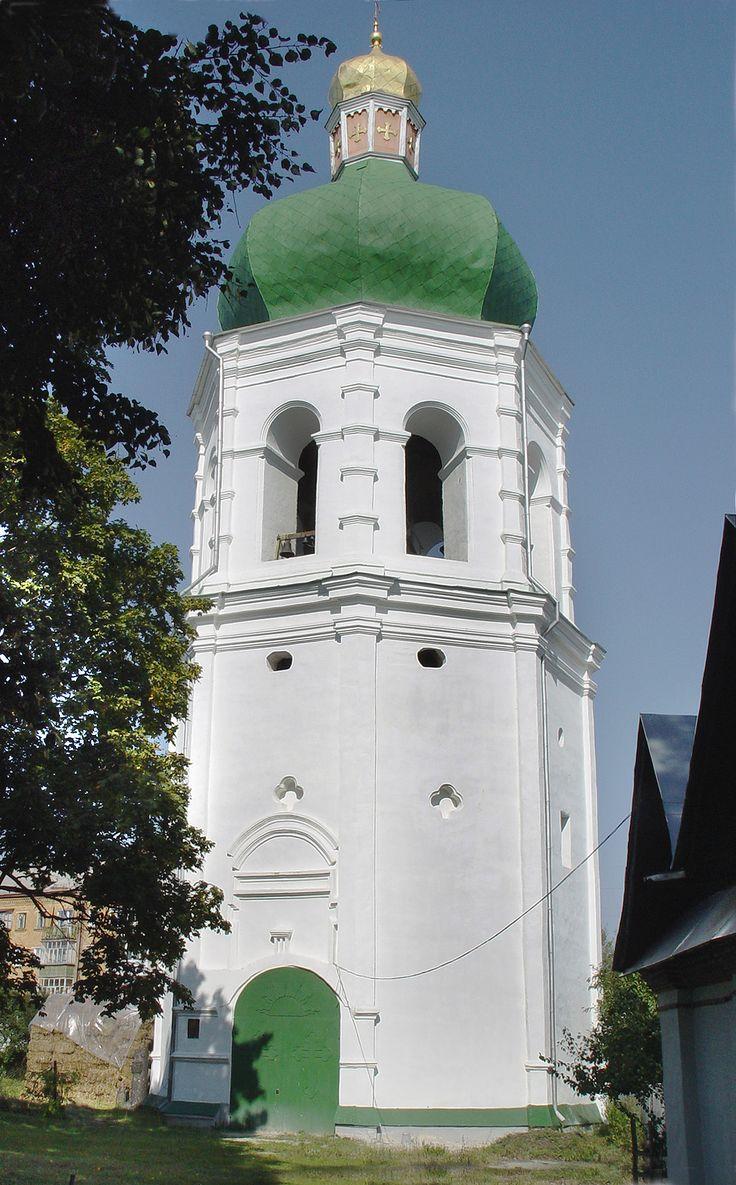 Дзвіниця Єлецького монастиря в Чернігові