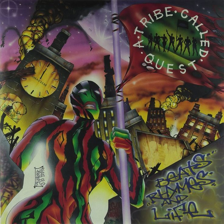 A Tribe Called Quest Beats, Rhymes and Life LP #Vinyl Record - New Sealed