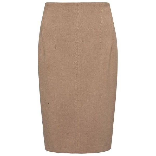 MANGO Skirt ❤ liked on Polyvore