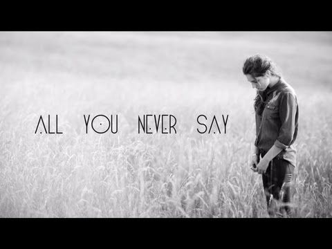 """Birdy - All You Never Say [Official Lyric Video]   """"If only I could look into your mind Maybe then I'd find a sign Of all I want to hear you say to me To me"""""""