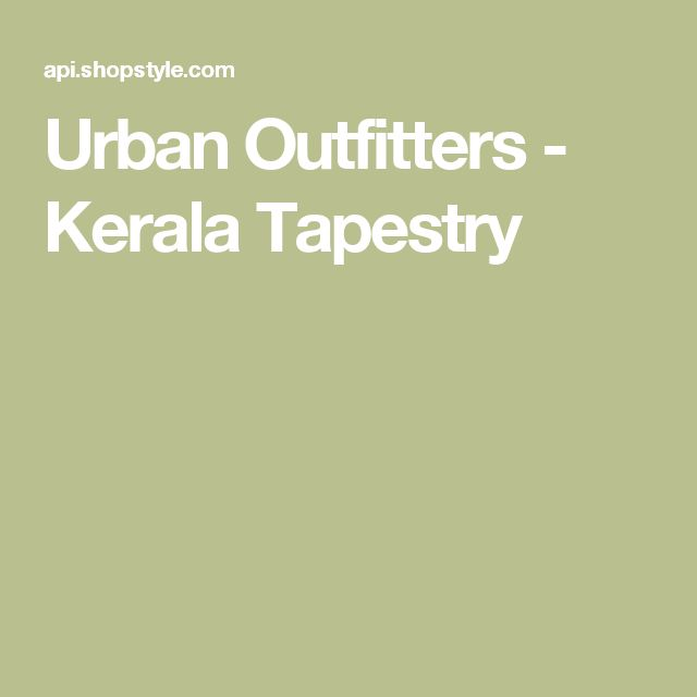 Urban Outfitters - Kerala Tapestry