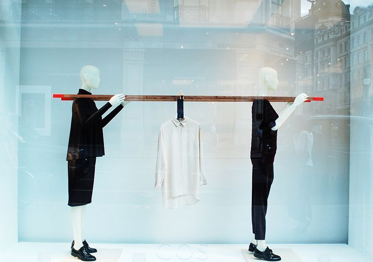 VM Cheap and Easy Store Window #design #inspiration #store