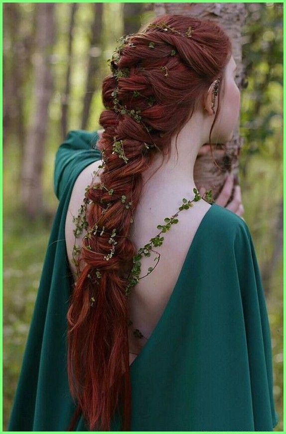 Long Hair Models – 27 Lord of the Rings Inspired Wedding Ideas #Herr #Wedding #Ideen #inspirier … #celebritylong