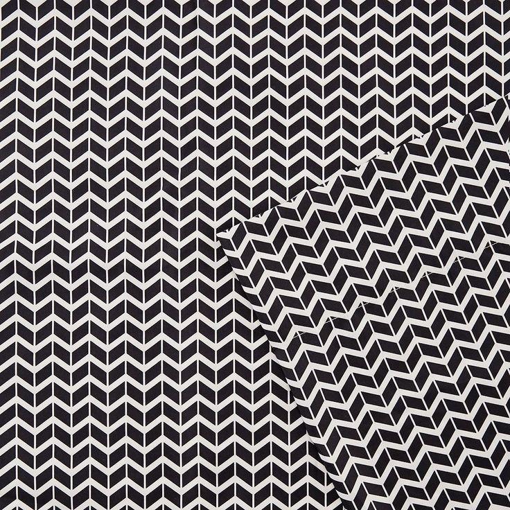Intelligent Design Chevron Sheets, Black Twin Xl