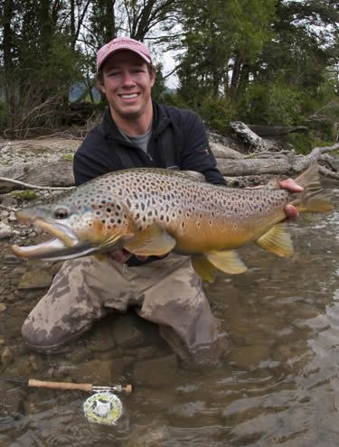 Chilean Brown Trout... nice fish.