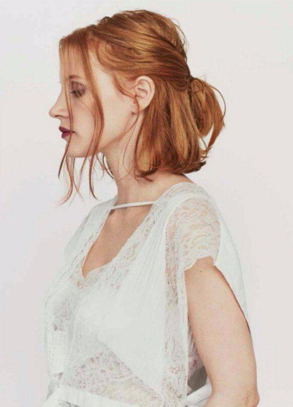 character inspiration: jessica chastain would be perfect as my sole survivor