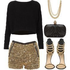 A fashion look from January 2013 featuring Topshop sweaters, Giuseppe Zanotti sandals and Alexander McQueen clutches. Browse and shop related looks.