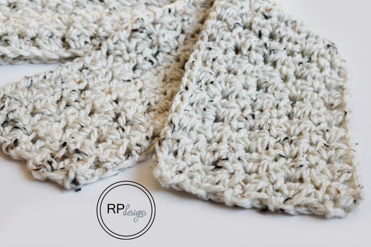Fantastic Fall Scarf - Free Crochet Pattern // From Rescued Paw Designs