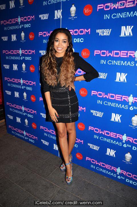 Dionne Bromfield  UK Premiere of 'Powder Room' at Cineworld Haymarket http://www.icelebz.com/events/uk_premiere_of_powder_room_at_cineworld_haymarket/