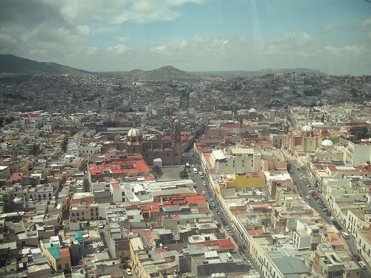 Zacatecas from the cable car