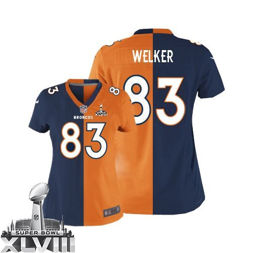 wes welker limited nike two tone wes welker limited jersey at broncos shop. limited nike