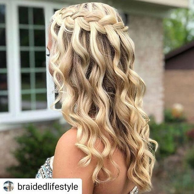 Wouldn't this be fun for homecoming?……. #Repost Braided Lifestyle      Water…