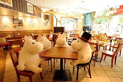 Moomin Café in Tokyo Skytree Town, Soramachi