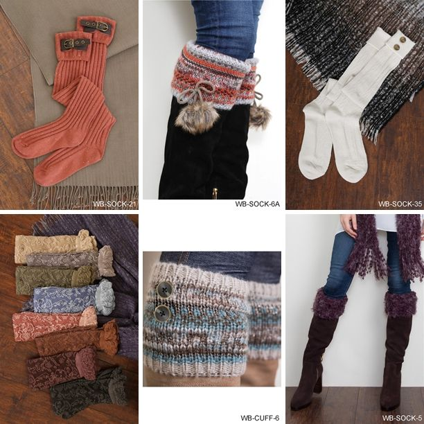 With fall comes boots...  if you have boots you MUST have boot socks!  The Loft on Main's boot sock tree is loaded with a wonderful variety...  Shop this look at The Loft in store or online...
